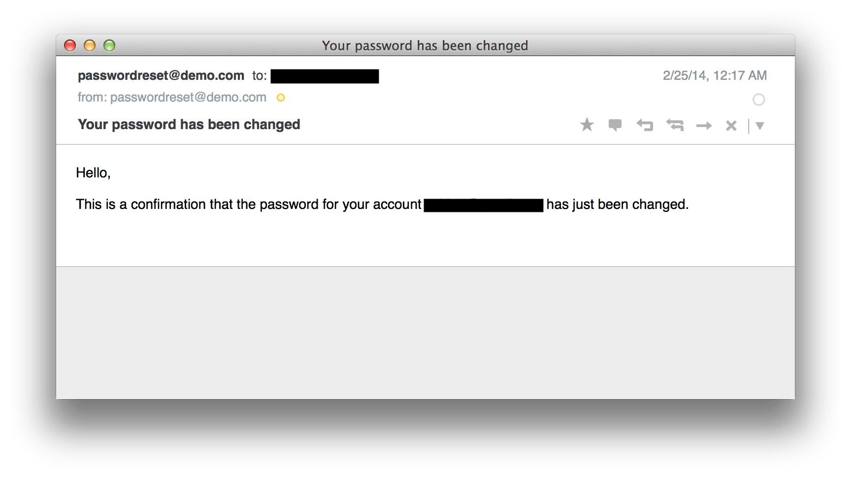 Change password email template images professional for Password change email template
