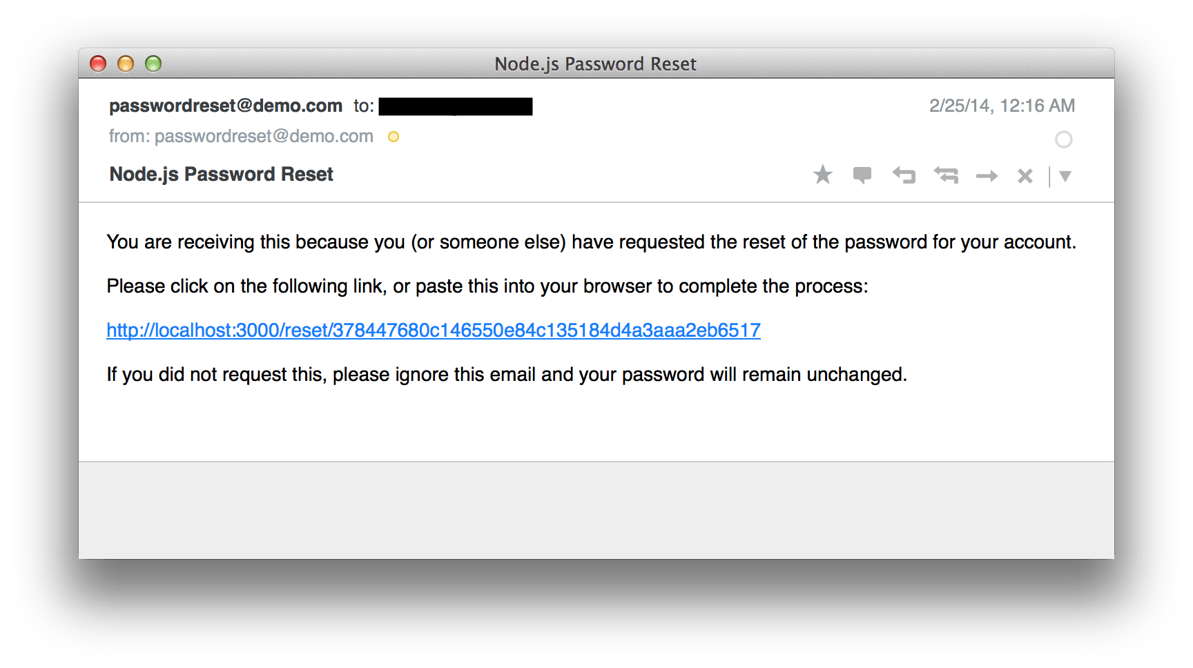 How To Implement Password Reset In Nodejs